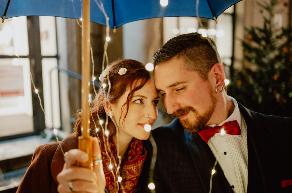 Eine kleine feine Hochzeit mit fantastischen Bildern